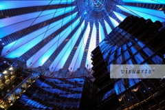 Roof of Sony Center