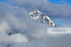 Salzkofel in clouds