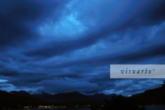 Evening clouds III