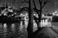 By the Seine by night