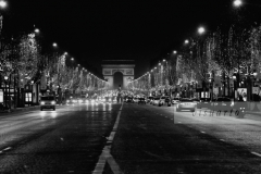 Champs Elysées by night