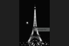 Tour Eiffel (Full moon)