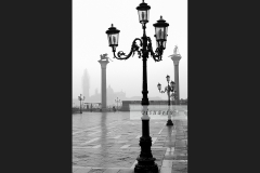 Early morning on Piazza San Marco