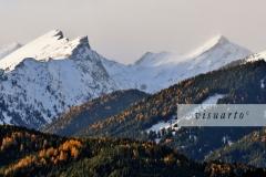 Gurglitzen, Böse Nase and Sonnblick (snow storm in November))
