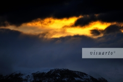 Kreuzeckgruppe (sunset)