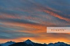 Grakofel, Salzkofel and Polinik (sunset)