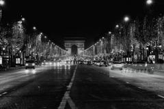 Champs Elysées by night
