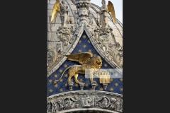 Facade of Basilica di San Marco